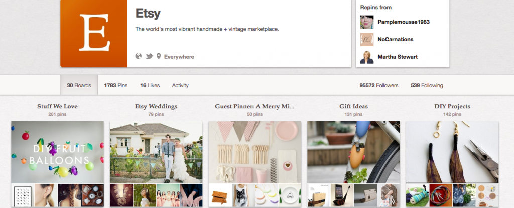 Selling beautiful things? Add it to Pinterest.