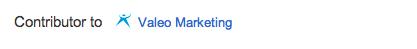 Google+ contributor for rel author