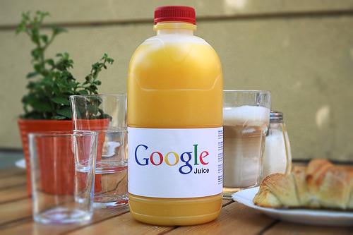 Google juice.