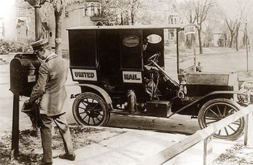 Vintage mailman.