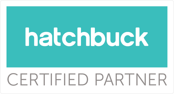 Hatchbuck Certified Partner badge.